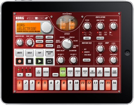 iElectribe on iPad