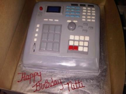Akai MPC 2000 Kuchen
