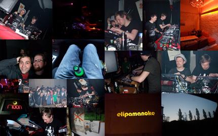 Tonsystem Klangkunst at Elipamanoke Leipzig & Club Moon Poessneck