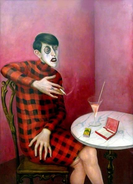 """""""Bildnis der Journalistin Sylvia von Harden"""" von Otto Dix, 1926"""