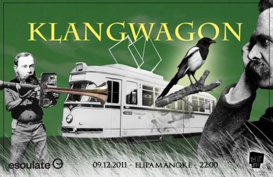 Flyer Klangwagon Elipamanoke Leipzig
