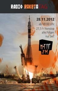 Poster vom Radio Raketa Tag auf Mottt.FM