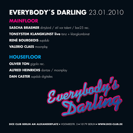 Everybody's Darling Flyer